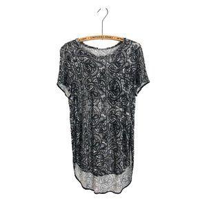 Aritzia Wilfred Capucine Pattern T Shirt